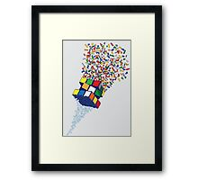 The Cube Factory Framed Print
