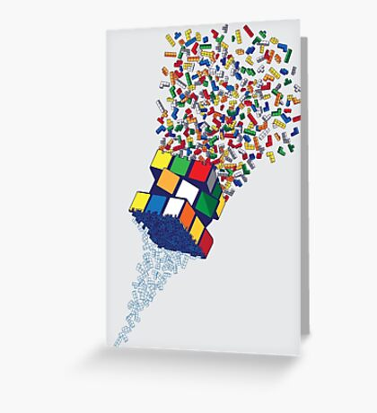 The Cube Factory Greeting Card