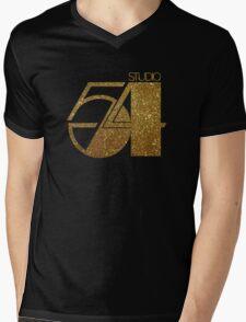 Studio 54 Mens V-Neck T-Shirt