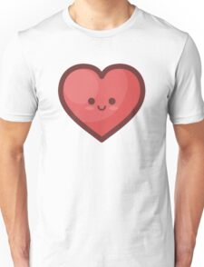 Cute Happy Loveheart Unisex T-Shirt