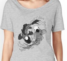 Koi Fish Yin and Yang Women's Relaxed Fit T-Shirt