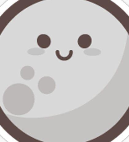 Cute Happy Moon Face Sticker
