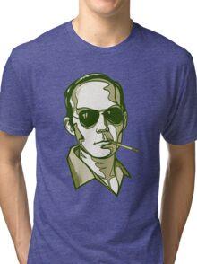 Hunter S. Thompson green Tri-blend T-Shirt