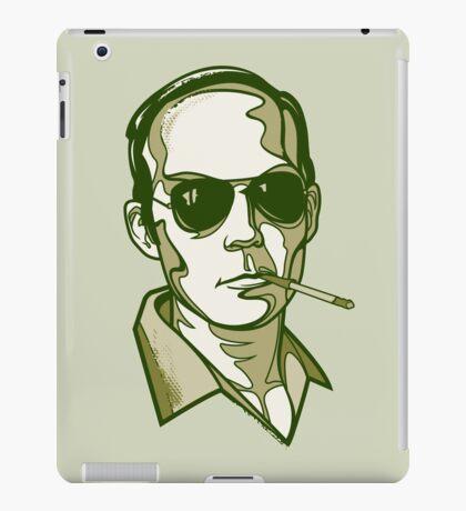 Hunter S. Thompson green iPad Case/Skin