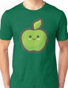 Cute Happy Green Apple Unisex T-Shirt
