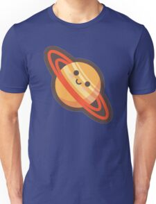 Cute Happy Saturn Unisex T-Shirt