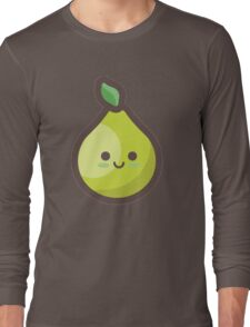 Cute Happy Pear Long Sleeve T-Shirt