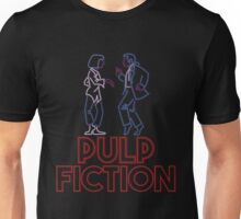 Pulp Fiction - Neon Lights Unisex T-Shirt
