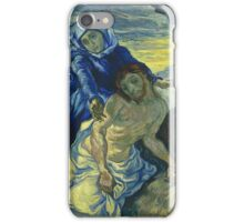 Vincent Van Gogh - Pieta After Delacroix Saint-Remy 1889 iPhone Case/Skin