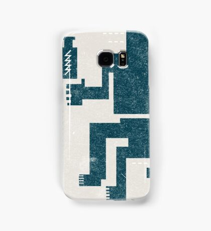Buffalo Factory- Sitting Figure with Lightning in a Bottle Samsung Galaxy Case/Skin