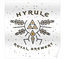 Hyrule Royal Brewery Poster