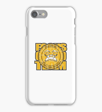 Focus Gold Team Jiu Jitsu iPhone Case/Skin