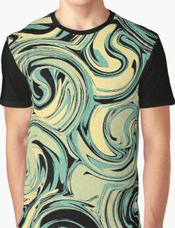 Waves In Chaos Graphic T-Shirt