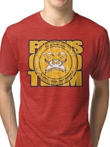 Focus Gold Team Jiu Jitsu Tri-blend T-Shirt