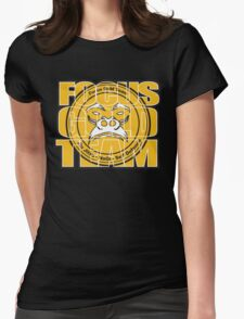 Focus Gold Team Jiu Jitsu Womens Fitted T-Shirt
