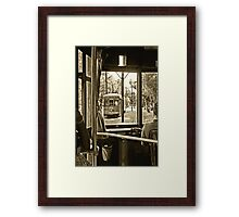 New Orleans Street Car Framed Print
