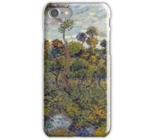 Vincent Van Gogh - Sunset At Montmajour, 1888 iPhone Case/Skin