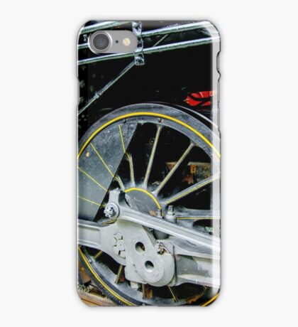 Locomotive wheels iPhone Case/Skin