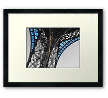 Tour Eiffel Mr Splash Framed Print