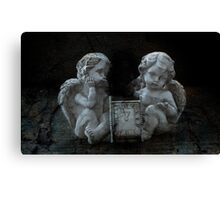 Time to meet Angels Canvas Print