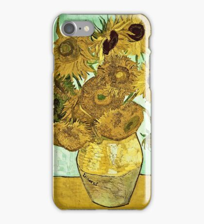 Vincent Van Gogh - Sunflowers 2 1888  iPhone Case/Skin