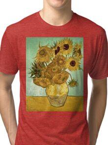 Vincent Van Gogh - Sunflowers 2 1888  Tri-blend T-Shirt