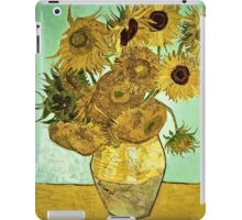 Vincent Van Gogh - Sunflowers 2 1888  iPad Case/Skin
