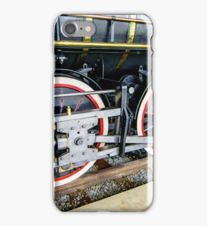 Locomotive Wheels (2) iPhone Case/Skin