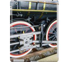 Locomotive Wheels (2) iPad Case/Skin
