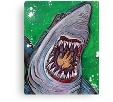 Shark Kill Zone Canvas Print