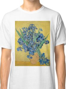 Vincent Van Gogh - Still Life With Irises, 1890 Classic T-Shirt
