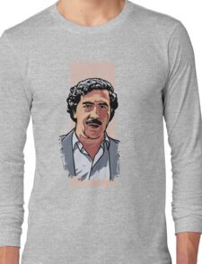 Pablo Escobar Long Sleeve T-Shirt
