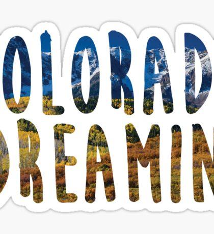 """""""Colorado Dreamin'"""" Graphic Sticker"""