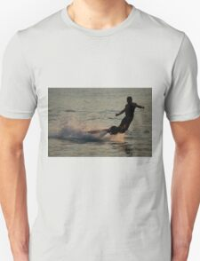Flyboarder throwing his arms out while falling T-Shirt