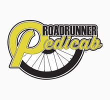 Roadrunner Pedicab - Clean Logo Kids Clothes