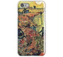 Vincent Van Gogh - Red Vineyards  iPhone Case/Skin