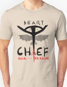 HEART of a CHIEF, SOUL of a DRAGON Unisex T-Shirt