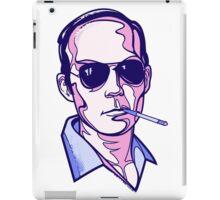 Hunter S. Thompson violet iPad Case/Skin