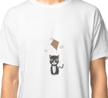 Cat with Kite Classic T-Shirt