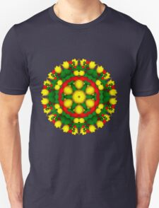 Fractal Christmas Wreath I Unisex T-Shirt