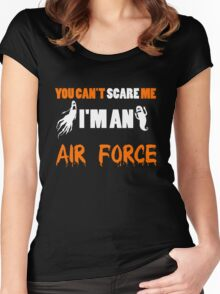 Air Force - You Can't Care Me I'm An Air Force T-shirts Women's Fitted Scoop T-Shirt