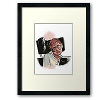 Stephen Hawking Framed Print