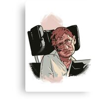 Stephen Hawking Canvas Print