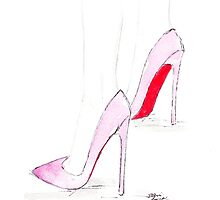 Pink Pigalles by Eleni Fall into London