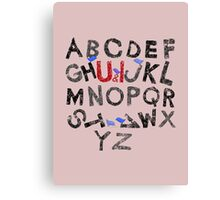 Rearrange Canvas Print