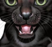 Cataclysm: Oriental Shorthair Kitten - Classic Canvas Sticker
