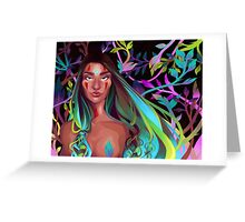Naked Leaves Greeting Card