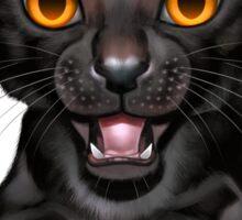 Cataclysm: Oriental Shorthair - Halloween background Sticker