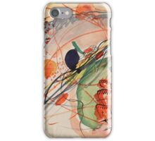 Wassily Kandinsky - Watercolor 6 1911  iPhone Case/Skin
