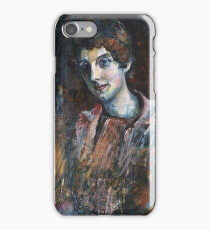 Wassily Kandinsky - Portrait Of Nina Kandinsky 1917  iPhone Case/Skin